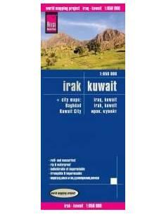 RKH Irak - Kuwait térkép