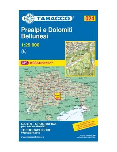 TO 024 Prealpi e Dolomiti - Bellunesi...