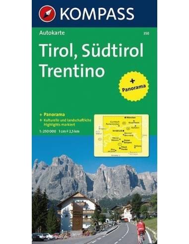 KK 358 Tirol - Südtirol - Trentino +...