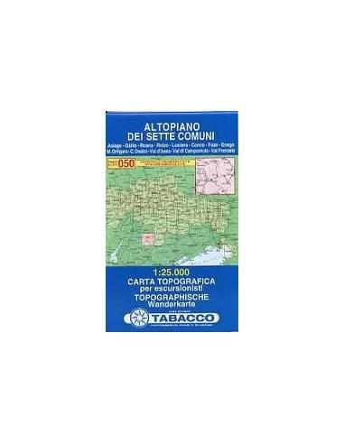 TO 050 Altopiano Dei Sette Comuni térkép