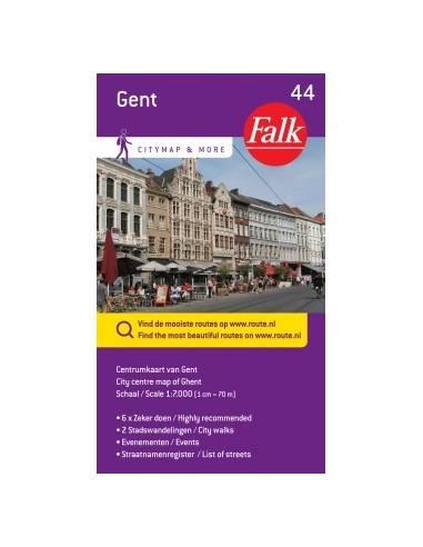 Gent belváros térkép (44)