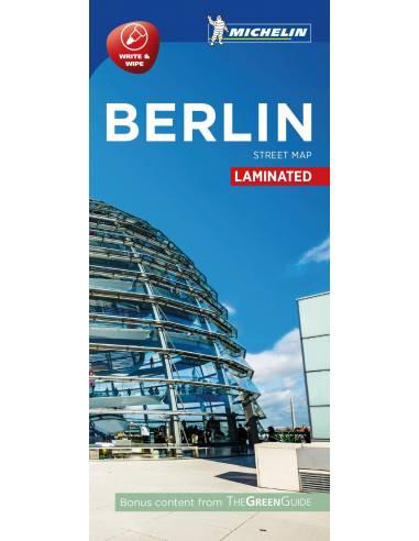 Berlin laminált térkép Street Map