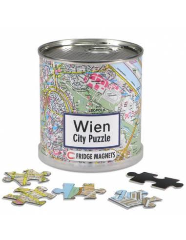 Hűtőmágnes - Bécs - City puzzle