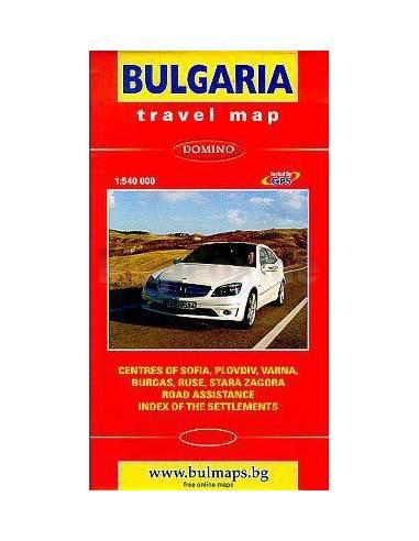 Bulgária térkép