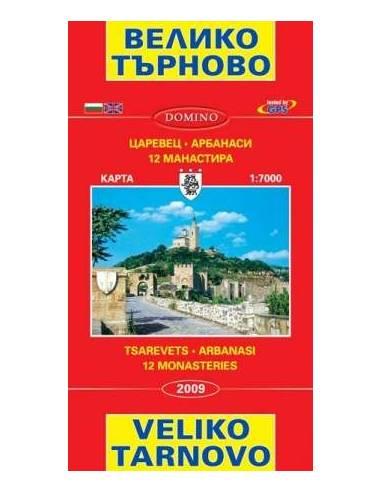 Veliko Tarnovo térkép