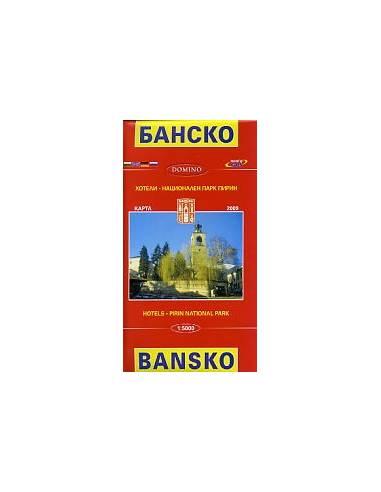 Bansko térkép