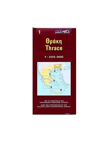 Thrace - Trákia térkép [1]