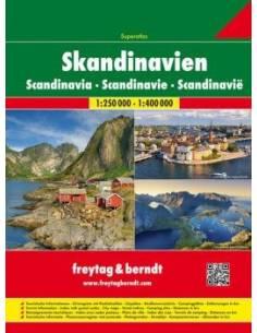Skandinávia szuperatlasz -...