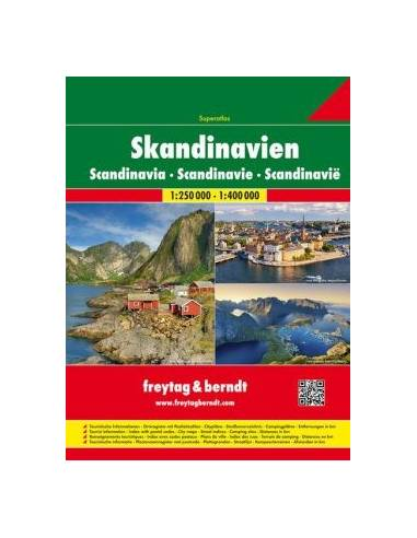 Skandinávia szuperatlasz - Skandinavien