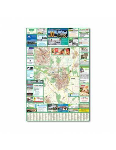 Veszprém várostérkép