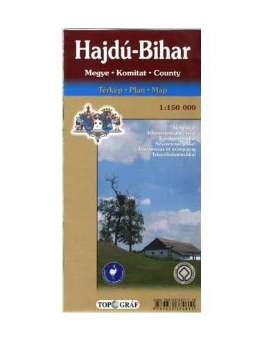 Hajdú-Bihar Megye térkép