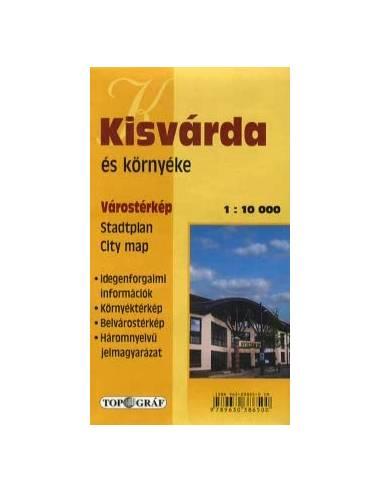 Kisvárda térkép