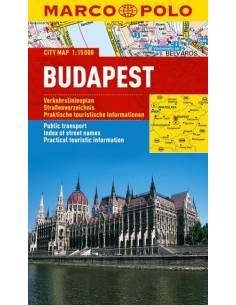 Budapest MARCO POLO Cityplan