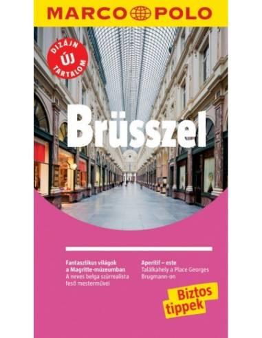 Brüsszel útikönyv -Marco Polo 2016