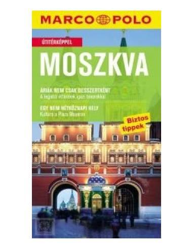 Moszkva útikönyv (Marco Polo)