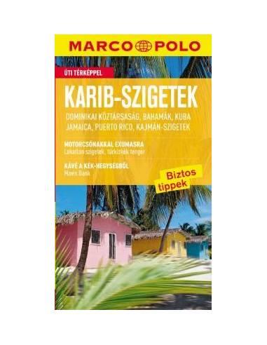 Karib-szigetek útikönyv (Marco Polo)
