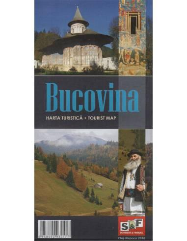 SF Bukovina térkép - Bucovina