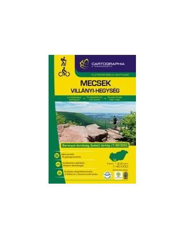 Mecsek - Villányi-hegység turistakalauz