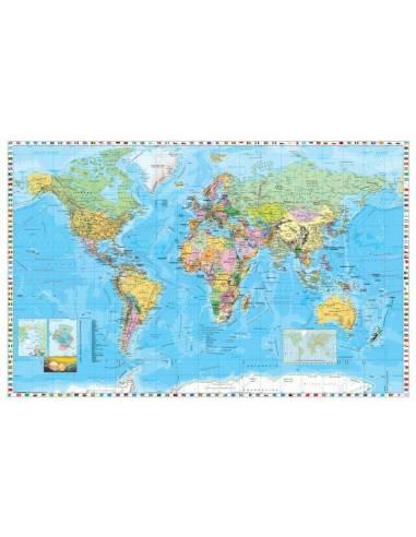 A Föld országai térkép - Közép-Európa...