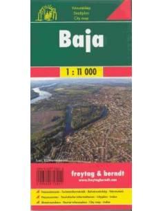 Baja várostérkép