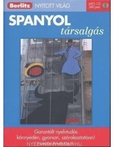 Spanyol társalgás -Berlitz könyv+CD