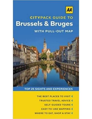AA CityPack Guide to Brussels & Bruges
