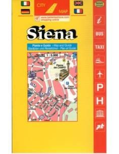 Siena City térkép