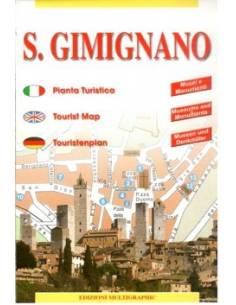 S. Gimignano térkép (mini)