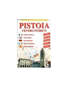 Pistoia centrum térkép (mini)