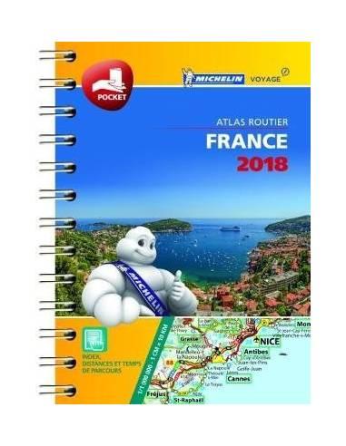 MN 95 Franciaország mini atlasz 2018