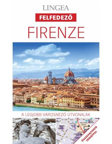 Firenze - Felfedező útikönyv + térkép...