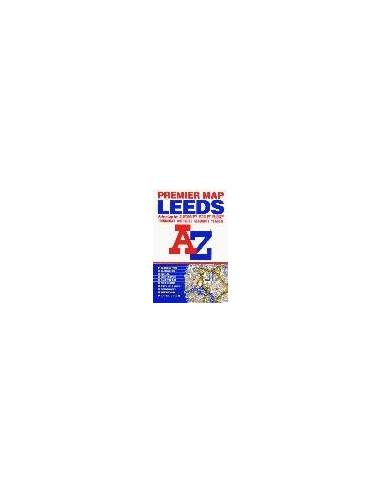 Leeds térkép Premier Map(A-Z)
