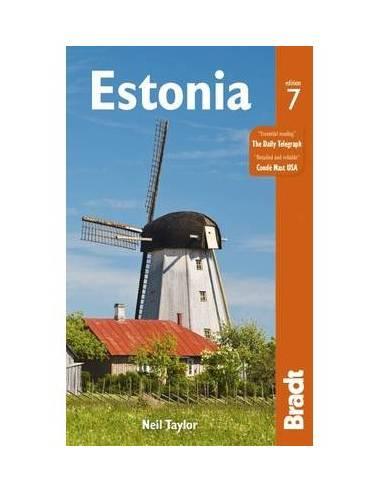 Estonia - Észtország - Bradt útikönyv