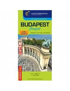 Budapest Comfort térkép