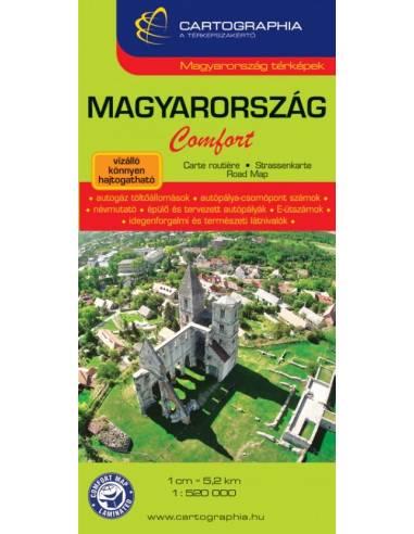 Magyarország térkép komfort