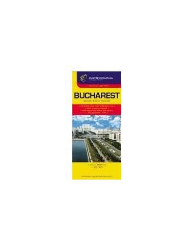 Bukarest teljes térkép