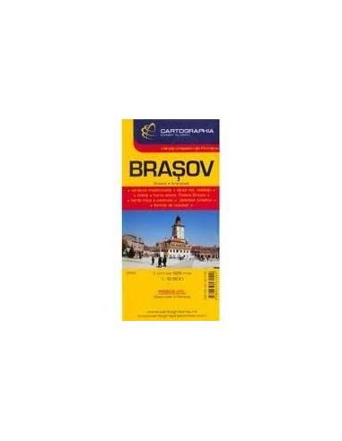 Brassó - Brasov várostérkép