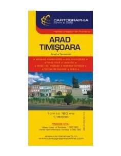 Arad / Temesvár térkép