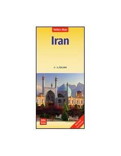 Irán vízálló térkép