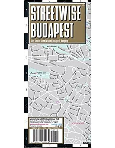 Streetwise Budapest Map