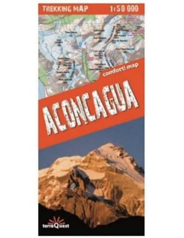 Aconcagua comfort! map turistatérkép