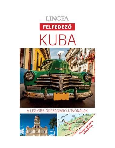 Kuba - Felfedező útikönyv + térkép...