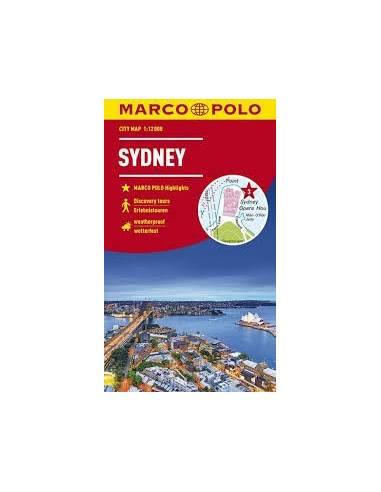 Sydney city map Marco Polo