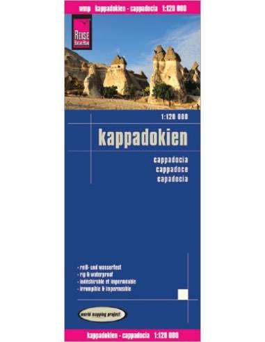 RKH Kappadokien - Kappadókia térkép