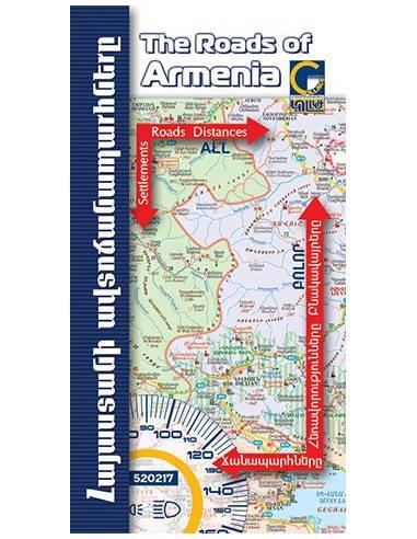 ARMENIA - ÖRMÉNYORSZÁG ATLASZ
