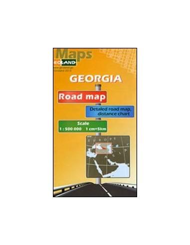 Grúzia autóstérkép / Georgia Road map
