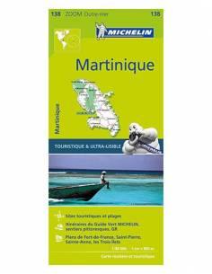MN 138 ZOOM Martinique térkép