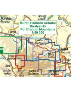 Királyerdő-hegység térkép