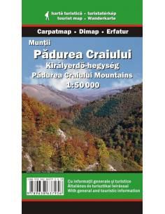 Királyerdő-hegység térkép -...