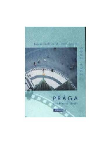 Prága útikönyv és térkép